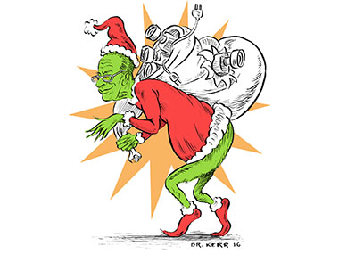 Chuck Schumer, Media firings, DNC, Grinch, Christmas